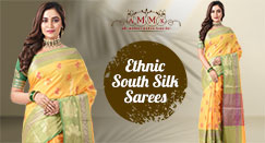 Add a Royal Touch to Your Celebration with a Beautiful South Silk Saree