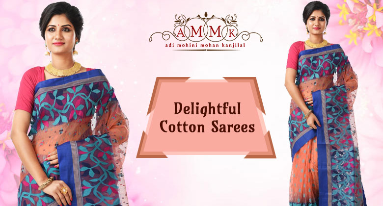 Numerous Benefits of Cotton Sarees which Keep Them in Demand