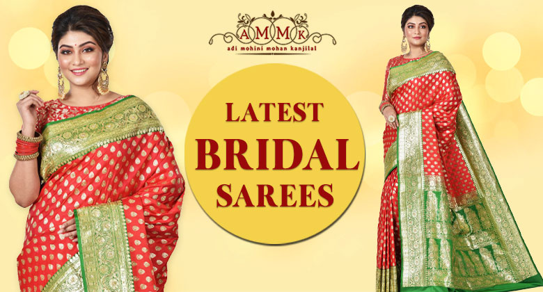 Latest trend in Indian bridal saree