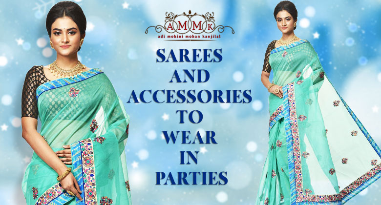 Top 5 stylish Sarees To Wear In Parties