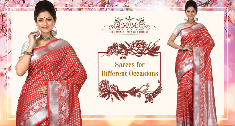 Best Sarees to add glamour on different occasions