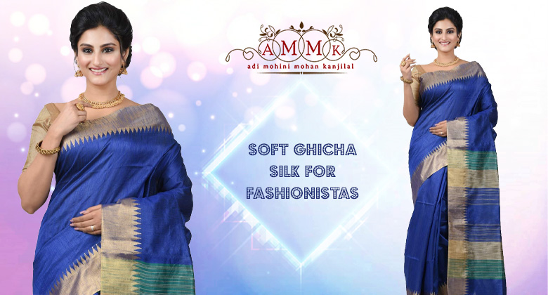 Sensuous Ghicha Silk Sarees To Enhance Your Poise And Elegance