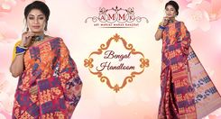 Bengal Handloom Sarees Collection