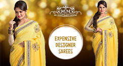 Why the party wear Designer Sarees are so expensive