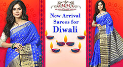 New arrival of Diwali sarees