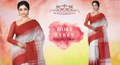 Delightful Printed Sarees to Celebrate Holi