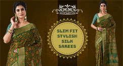 How to style your Silk Saree to get a slim fit look